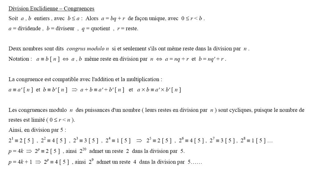 division avec dividende décimal